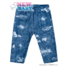 NEW BABY Baba pamut legging New Baby Light Jeansbaby kék | Kék | 62 (3-6 h)