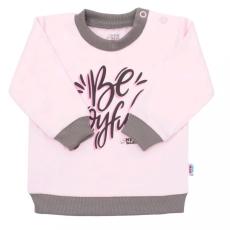 NEW BABY Baba póló New Baby With Love rózsaszín