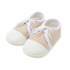 NEW BABY Baba tornacipő New Baby jeans bézs 0-3 h gyerek cipő