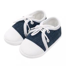 NEW BABY Baba tornacipő New Baby Jeans kék 3-6 h