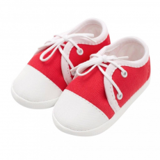 NEW BABY Baba tornacipő New Baby piros 3-6 h
