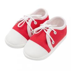 NEW BABY Baba tornacipő New Baby piros 6-12 h