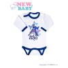 NEW BABY Csecsemő hosszú ujjú body New Baby Towns kék   Kék   62 (3-6 h)