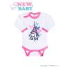NEW BABY Csecsemő hosszú ujjú body New Baby Towns  rózsaszín | Rózsaszín | 86 (12-18 h)