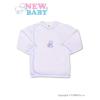 NEW BABY Csecsemő ingecske hímzett képpel New Baby kék | Kék | 50