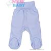 NEW BABY Csecsemő lábfejes nadrág New Baby Classic   Kék   56 (0-3 h)