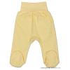 NEW BABY csecsemő lábfejes nadrág sárga | Sárga | 56 (0-3 h)