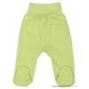 NEW BABY csecsemő lábfejes nadrág zöld | Zöld | 56 (0-3 h)