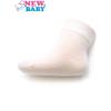 NEW BABY Csecsemő zokni mintával New Baby fehér