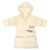 NEW BABY Gyerek fürdőköpeny New Baby Baglyócska bézs | Bézs | 110 (4-5 éves)