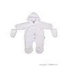 NEW BABY Gyerek kezeslábas New Baby süni fehér   Fehér   62 (3-6 h)