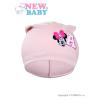 NEW BABY Gyerek őszi sapka New Baby Minnie rózsaszín | Rózsaszín | 110 (4-5 éves)