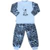 NEW BABY Gyerek pamut pizsama New Baby Zebra léggömbbel kék