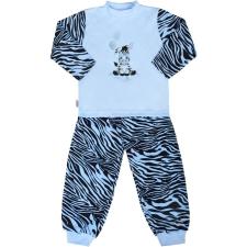 NEW BABY Gyerek pamut pizsama New Baby Zebra léggömbbel kék gyerek hálóing, pizsama