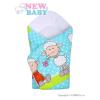 NEW BABY Gyerek pólya New Baby türkiz báránykával | Türkiz |