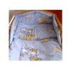 NEW BABY Kétrészes ágyneműgarnitúra New Baby 100/135 cm kék macis | Kék | 100/135 cm