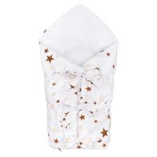 NEW BABY Klasszikus megkötős pólya New Baby csillagok barna | Barna | pólya
