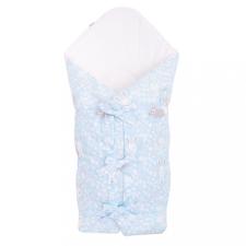NEW BABY Klasszikus megkötős pólya New Baby Nyuszi kék pólya