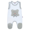 NEW BABY Luxus baba rugdalózó New Baby Honey Bear 3D | Fehér | 62 (3-6 h)