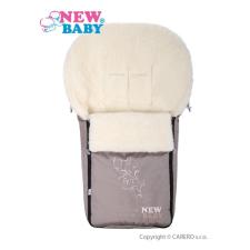 NEW BABY Luxus lábzsák gyapjúval New Baby bézs | Bézs | lábzsák