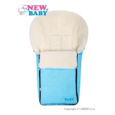NEW BABY Luxus lábzsák gyapjúval New Baby türkiz | Türkiz | lábzsák