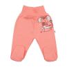 NEW BABY | New Baby Mouse | Baba lábfejes nadrág New Baby Mouse lazac szín | Rózsaszín | 80 (9-12 h)