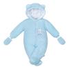 NEW BABY   New Baby Nice Bear   Téli kezeslábas New Baby Nice Bear kék   Kék   74 (6-9 h)