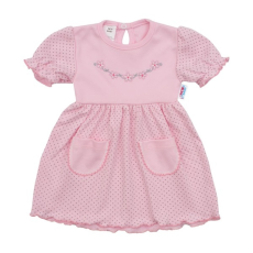 NEW BABY | New Baby Summer dress | Baba ruha New Baby Summer dress | Rózsaszín | 62 (3-6 h)