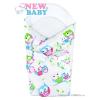 NEW BABY Pólya kókusz merevítéssel és masnival New Baby fehér baglyoval | Fehér |