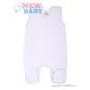 NEW BABY Rugdalózó fehér New Baby Classic | Fehér | 74 (6-9 h)