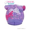 NEW BABY Tavaszi gyerek sapka New Baby pillangó lila | Lila | 104 (3-4 éves)