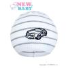 NEW BABY Tavaszi sapka New Baby Autó fehér - sötét szürke | Szürke | 104 (3-4 éves)