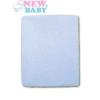 NEW BABY Vízálló lepedő New Baby 120x60 kék | Kék |