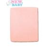 NEW BABY Vízálló lepedő New Baby 120x60 rózsaszín | Rózsaszín |