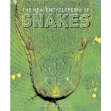 New  Encyclopedia of Snakes – Christopher Mattison idegen nyelvű könyv
