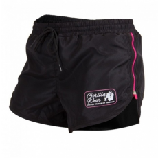 NEW MEXICO CARDIO SHORTS (BLACK/PINK) [L]