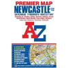 Newcastle térkép - A-Z