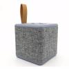 NewRixing kompakt bluetooth hangszóró dizájnos textil borítással - szürke