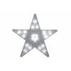 Nexos Karácsonyi dísz - Világító csillag - 20 LED, 35 cm