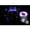Nexos Trading GmbH & Co. KG LED világítás - réz huzal - 100 LED színes