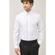 Next , Regular fit ing gallértűvel, Fehér, 17 (681220-WHITE-17)