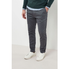 Next , Slim fit chino nadrág, Szénszürke, 34XL (159388-GREY-34XL)