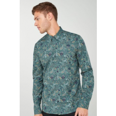 Next , Slim fit ing, fenyőzöld/sötétkék, 3XL (594793-GREEN-XXXL)