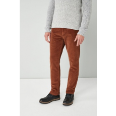 Next , Slim fit kordbársony nadrág, Fahéjbarna, 36S (551001-BROWN-36S)
