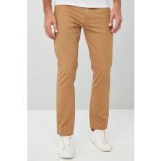 Next , Slim fit nadrág, Tevebarna, 34S (639772-BROWN-34S)