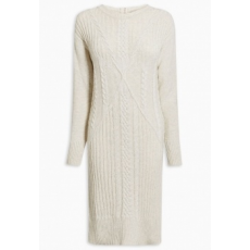 Next TBC NEXT Cable Knit Dress L (725471-BEIGE-L)
