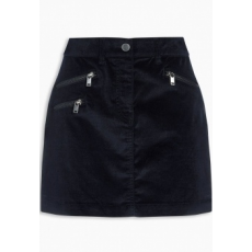Next TBC NEXT Navy Cord Zip Skirt 20 (714623-BLUE-20)