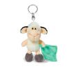 NICI Nici: bárány plüsskulcstartó - 10 cm