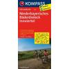 Niederbayerisches Bäderdreieck - Innviertel kerékpártérkép - Kompass FK 3118