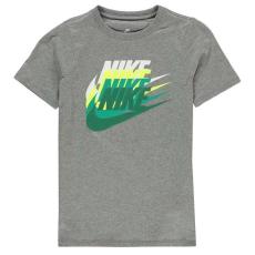 Nike gyerek póló - Nike Sunset Futura T Shirt Junior Boys Grey